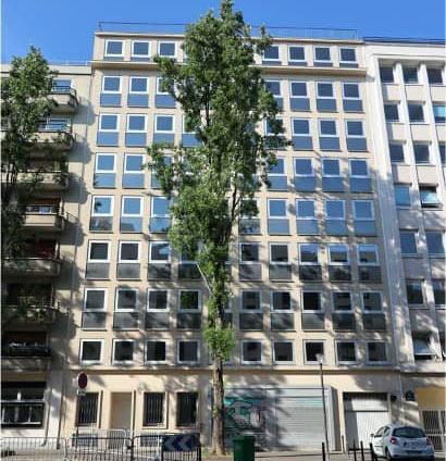 Immeuble de bureaux rue Saussure